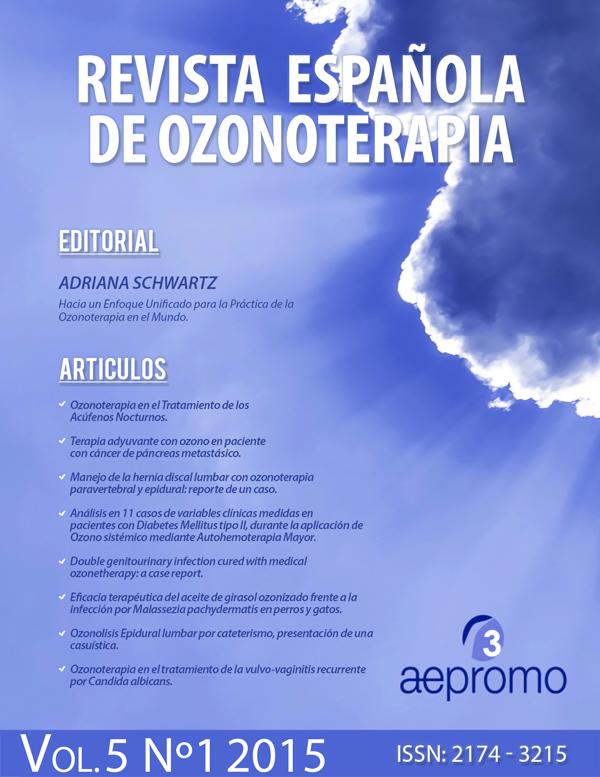Revista Española de Ozonoterapia  Vol 5, No 1 (2015)